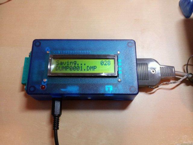 DC2N2-mini: dumping a tape by Luigi Di Fraia