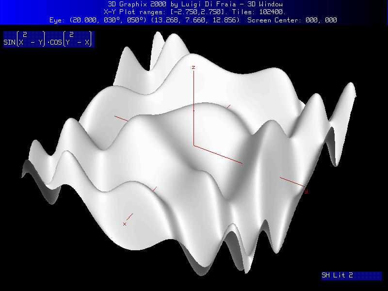Graphix 3: sample drawing by Luigi Di Fraia