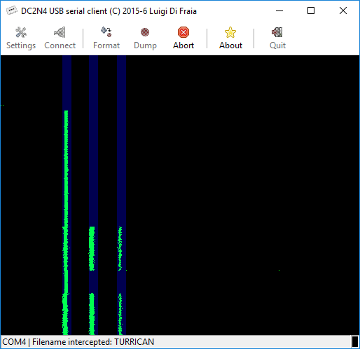 DC2N4 GUI client running under Windows 10 64-bits by Luigi Di Fraia