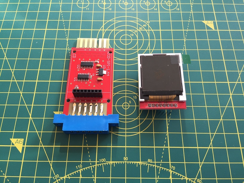 Tiny C2N Monitor: assembled device by Luigi Di Fraia