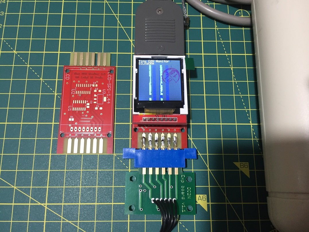 Tiny C2N Monitor: spoofing a tape port signal by Luigi Di Fraia