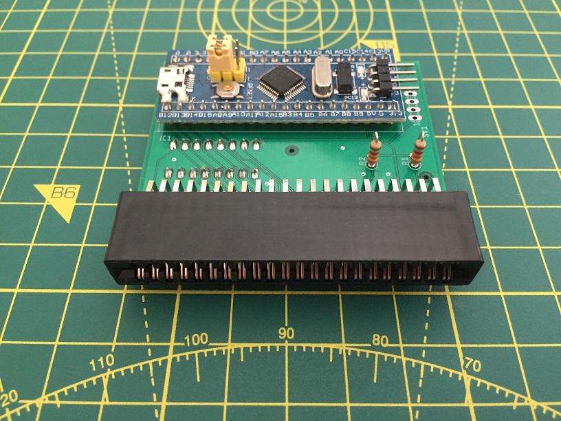 Commodore 64 Cartridge Dumper by Luigi Di Fraia